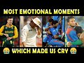 Cricket's Most Emotional & Sad moments   Cricketers Crying on field 😭   Updated 2020
