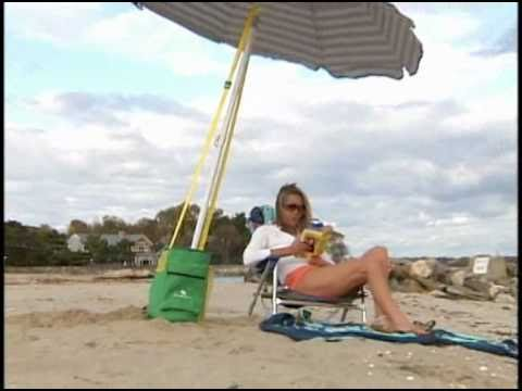 Shade Anchor Beach Umbrella Sand Demo
