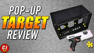 Nerf Targets For Shooting - Electronic Pop-up Target For Nerf Guns