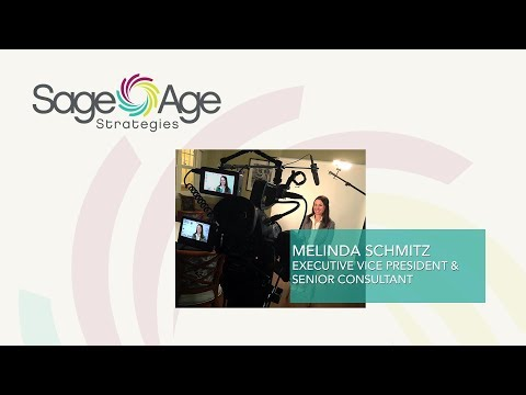 Melinda Schmitz, Executive Vice President at Sage Age Strategies on Expertise