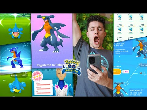 Download THE GREATEST COMMUNITY DAY IN POKÉMON GO HISTORY! (Gible Community Day)