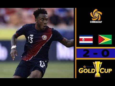 Costa Rica (3-0) French Guiana - All Goal - CONCACAF Gold Cup 2017 - Wallace