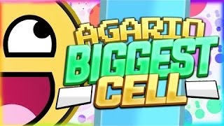 """""""60,000 MASS ON AGARIO!!"""" AGARIO BIGGEST CELL EVER! (Most addictive game)"""