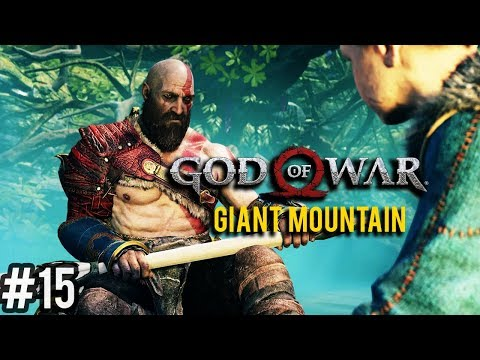 God of War 4 Walkthrough Part 15 - Giant Mountain (PS4 Let's Play Commentary)