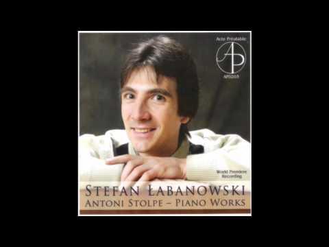 Antoni Stolpe (1851-1872), Variations in D minor, Stefan Łabanowski, piano