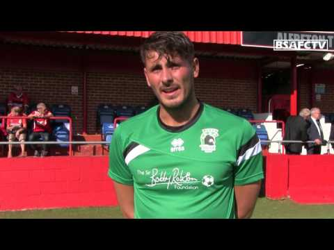 INTERVIEW   BSAFCTV speaks with new signing Peter Jameson.