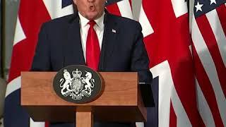 特朗普谈英国脱欧后美英贸易前景