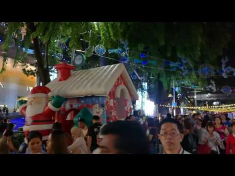 2016 Christmas Market at Orchard Road Singapore