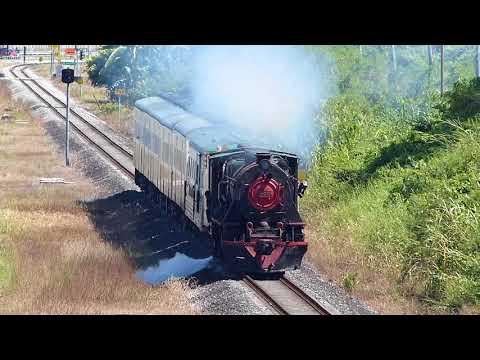 Steam locomotive Vulcan Foundry 2-6-2 No.6-015 North Borneo Railway バルカン・ファウンドリー製の蒸気機関車