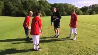 Упражнения на координацию с мячом