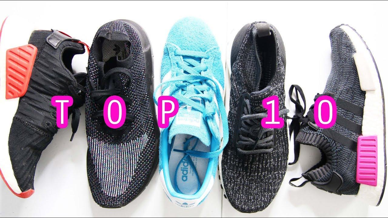 top 10 adidas sneakers 2017