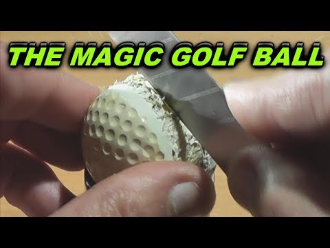 "The ""Magic Golf Ball""   (entertainment BEFORE the internet)"