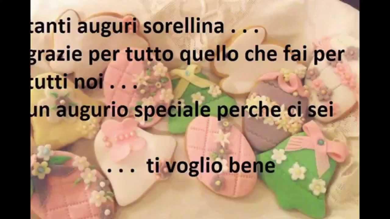 Top TANTI AUGURI SORELLINA!!!! - YouTube CC47