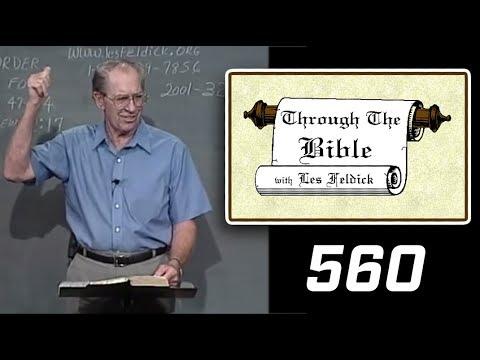 [ 560 ] Les Feldick [ Book 47 - Lesson 2 - Part 4 ] II Corinthians 5:14-20