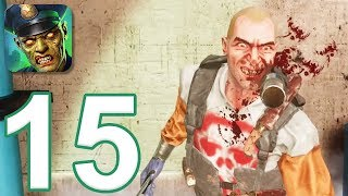 Kill Shot Virus - Gameplay Walkthrough Part 15 - Region 4: Treatment Plant (iOS, Android)