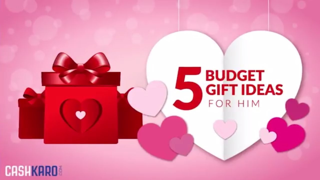 5 Budget Gift Ideas For Him! (2018) - YouTube