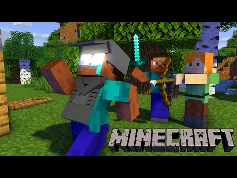 Monster School : PLAYING NORMAL MINECRAFT CHALLENGE - Minecraft Animation