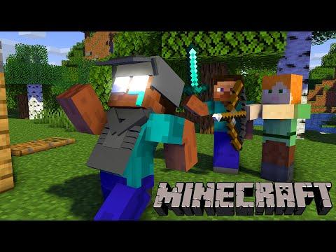 Monster School : PLAYING NORMAL MINECRAFT CHALLENGE - Minecraft Animation