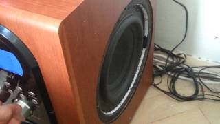Genius Home Theater SW-HF 5.1 6000 Subwoofer TEST