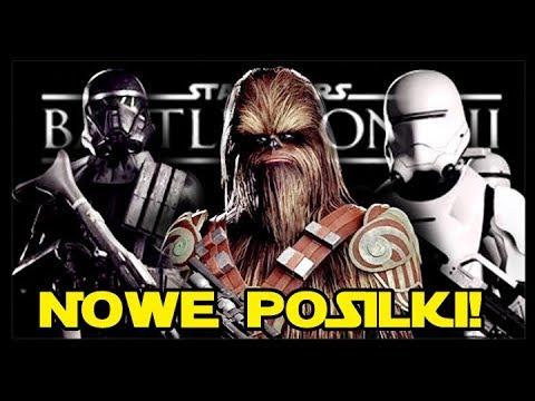 NOWE POSTACIE SPECJALNE! SKINY DO KLAS POSTACI W STAR WARS BATTLEFRONT 2 PL