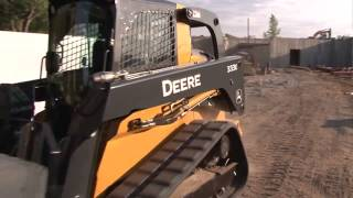 John Deere E Series Skid Steers and Compact Track Loaders