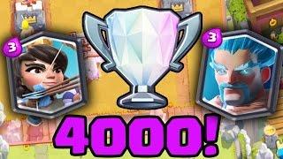 4000 KUPAYA NASIL ÇIKILIR? - CLASH ROYALE #1