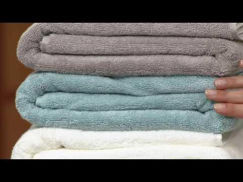 Scott Living 100% Hygro Cotton 6 Piece Towel Set on QVC