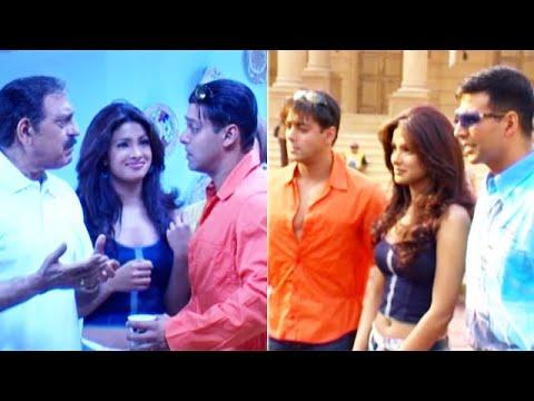 Download Shooting Of Mujhse Shaadi Karogi | Akshay Kumar | Salman Khan | Priyanka Chopra | Flashback Video