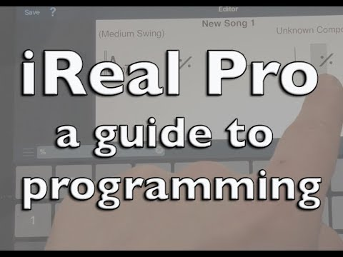 IReal Pro - A Guide To Programming