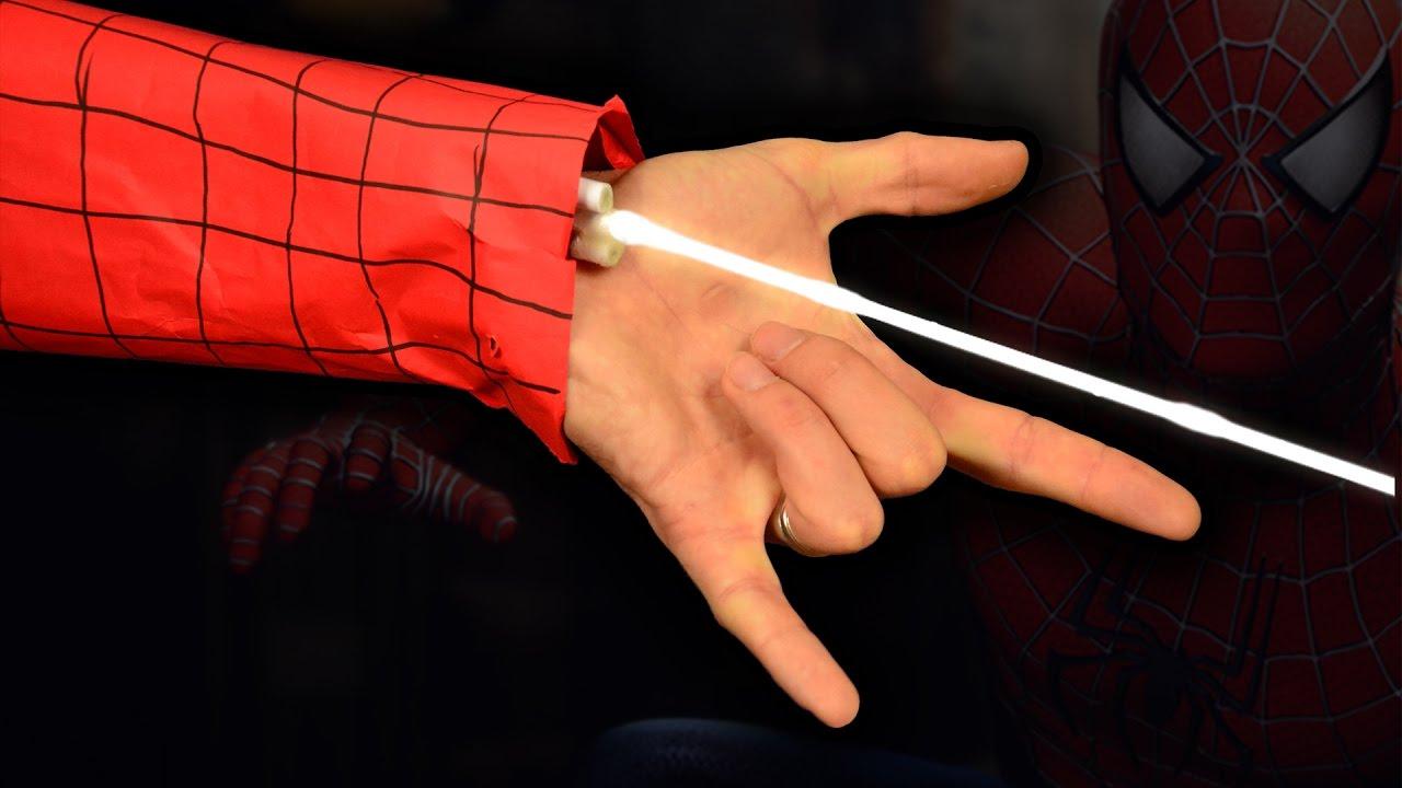 Как сделать настоящую паутину паука 749