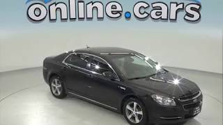 C97444RP Used 2011 Chevrolet Malibu LT FWD 4D Sedan Black Test Drive, Review, For Sale