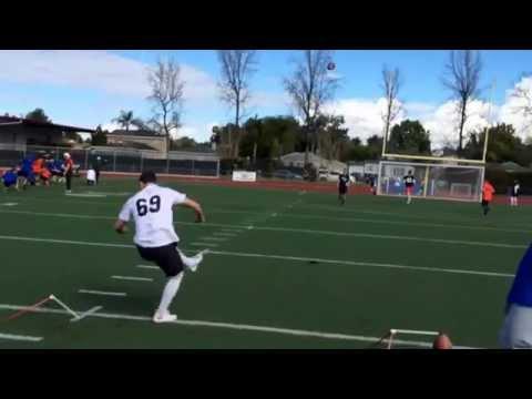 Chris Sailer Kicking Kicker Ethan Erickson is ready for college football.