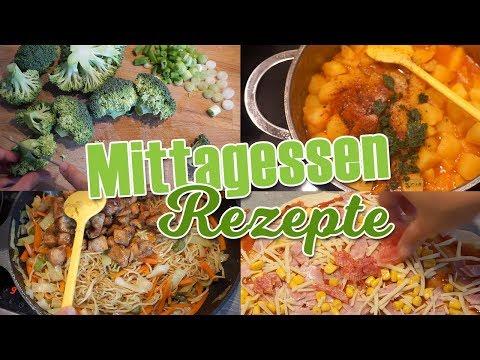 5 Mittagessen Rezepte 🍲🥘für Die Ganze Familie 👨👩👧👧   DIANA DIAMANTA