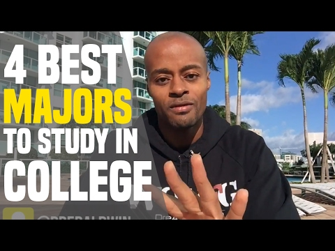 The 4 BEST Majors To Study In College | Dre Baldwin