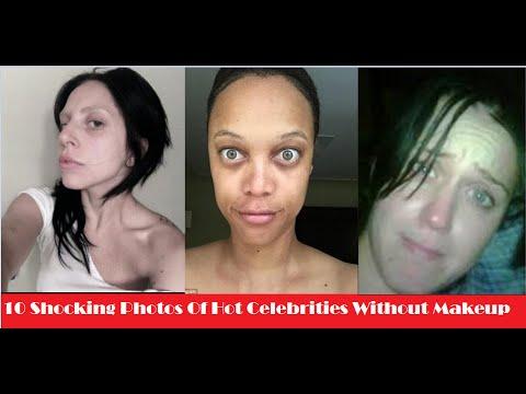 10 Shocking Photos Of Hot Celebrities Without Makeup