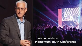 J Warner Wallace Speaking During a 2017 Momentum Youth Conference Main Session