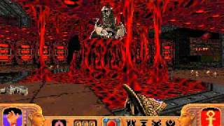 Powerslave (Exhumed) PC - Level 19 (Boss Arena - Kilmaatikahn)