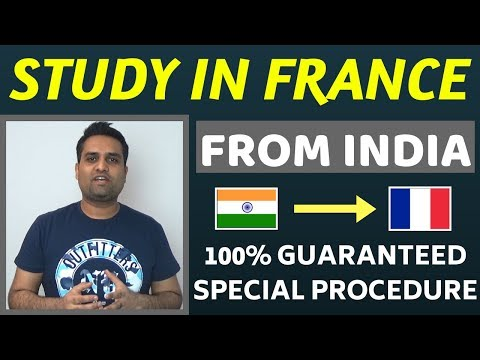 Study in France from India    Study in France for Indian Students