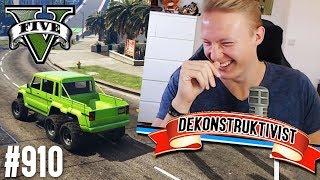 Deko bekommt harten Lachflash! (+DOWNLOAD) | GTA 5 - CUSTOM MAP RENNEN