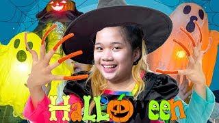 Cách Hóa Trang Halloween Với Bí Ngô Cực Chất ❤ Trang Trí Ngôi Nhà Halloween - Trang Vlog