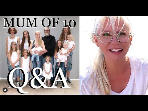 Q U0026 A  *MUM OF 10* (PART 2) 2020