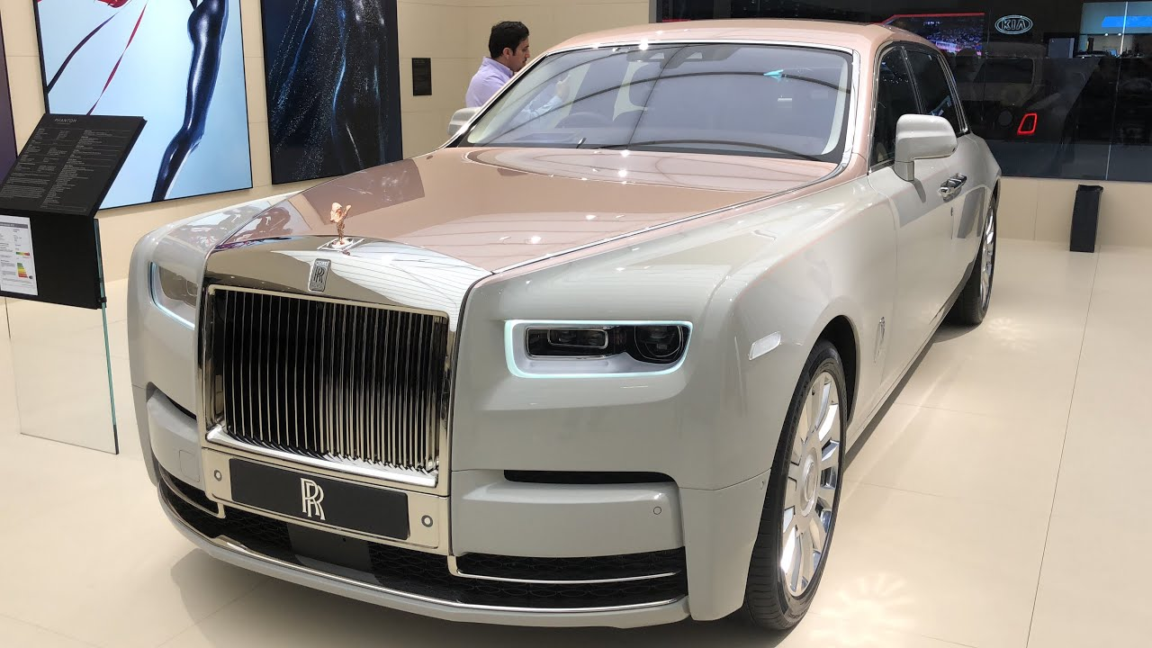 The New Rolls Royce Phantom Withe Rose Gold Youtube