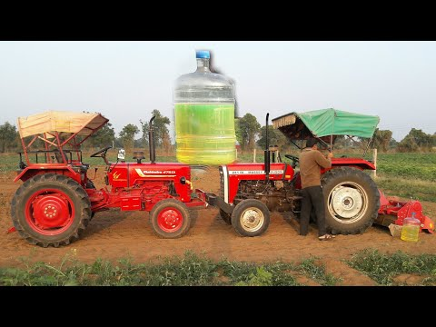 Massey 241Di Average Test With Rotavator (0.5 Letter)