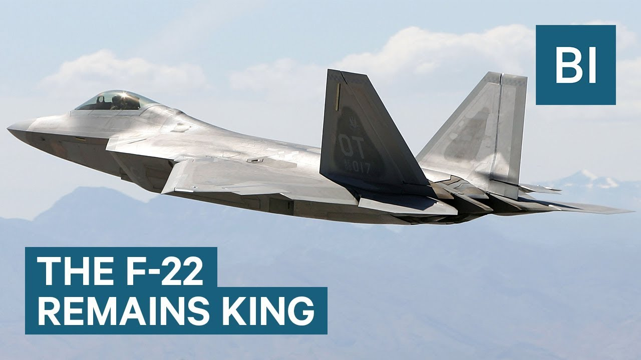 15be28a918e94 Watch the F-22 in action — the most dangerous jet fighter in the US Air  Force for the last 20 years