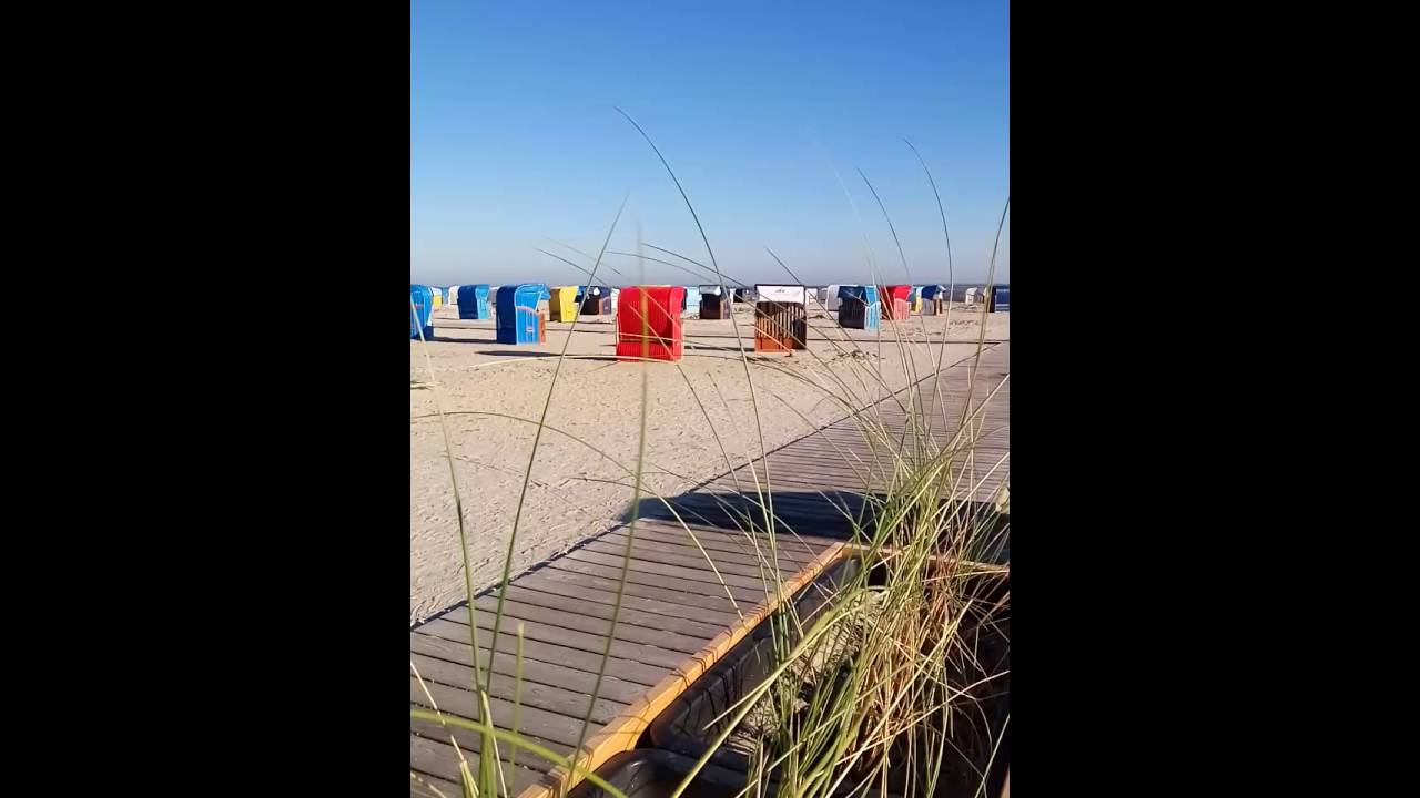 Strand Harlesiel Youtube