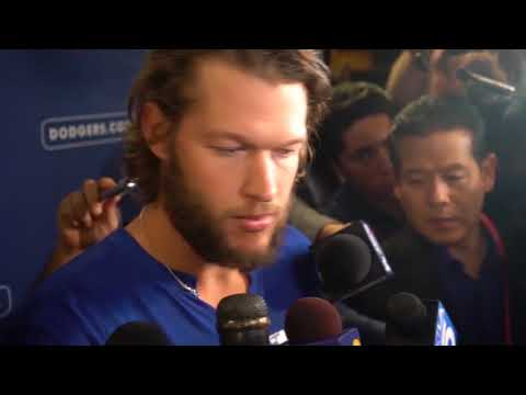 Clayton Kershaw World Series Post Game Interview - Sportainment TV
