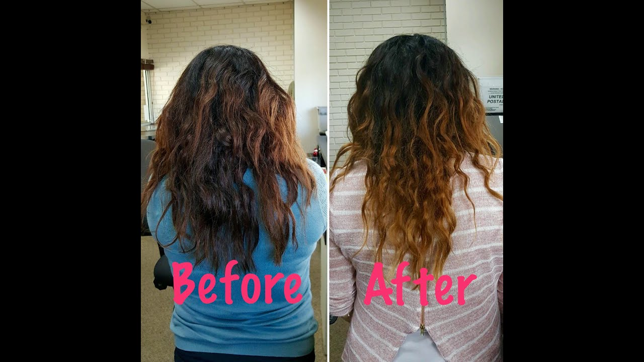 curly hair routine type 2b
