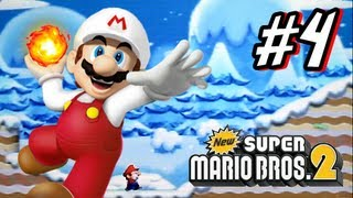 New Super Mario Bros 2 3DS - Part 4 World 4