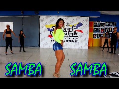 Tutorial Samba  Como Bailar Samba  Clases De Samba - Por Endrina Flores