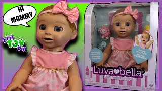 LUVABELLA Review! Realistic Responsive Baby Doll | Bin's Toy Bin